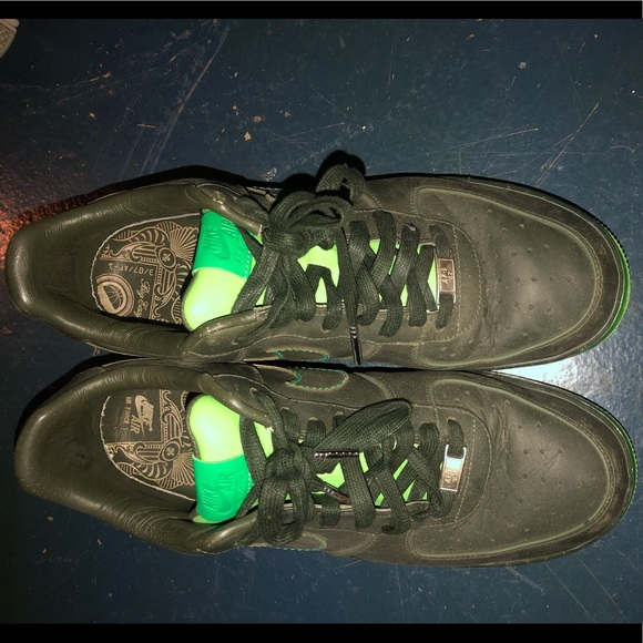 Nike Other - 💚all green air forces limited edition💚